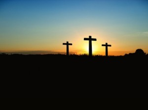 sunset-3-crosses
